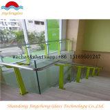 Vetro Tempered di vetro/barriera della guardavia dello strato libero