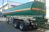 de los 20FT los 40FT de palma de petróleo de almacenaje del tanque Container/2-4axles 30-60cbm del combustible de petrolero del carro acoplado semi