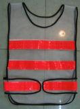 Poliestere alta visibilità riflettente Gilet di sicurezza / Sicurezza maglia / Gilet Warning