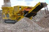 Sabbia di pietra mobile che fa schiacciamento della pianta stridente del frantoio della macchina d'estrazione