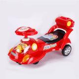 Passeio por atacado do carro da torção no carro do brinquedo com música e luz