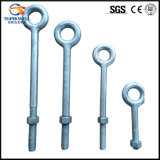Выкованное Поляк Line Oval Eye Nuts с Round Eye Bolts