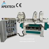 Маршрутизатор CNC гравировального станка высокоскоростной для деревянного цилиндра
