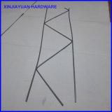 Estacas formadas H/del alambre acoplamiento galvanizado construcción de la escala del ladrillo