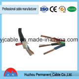 Электрический провод обшил проведение обшитое PVC мягкое Rvv провода провода гибкое