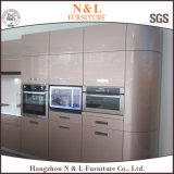 N & L MDF meuble de meuble de cuisine moderne blanc