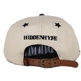 El Snapback de cuero completo del bordado de encargo capsula los sombreros