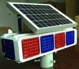 Indicatore luminoso solare dell'allarme delle 8 unità