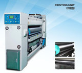 Caixa Machine com Printer Slotter Die Cutter e Gluer