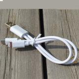 2 en 1 câble diplômée par Mfi de remplissage et de caractéristiques d'USB pour l'iPhone et l'androïde