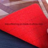 Настил PVC красной затыловки Non-Woven