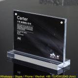 A6 Houder van de Prijs van de Grootte de Acryl