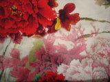 Ткань простирания Тяжел Крепировать De Китая печатание Silk