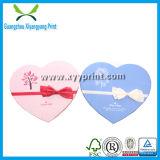 Kundenspezifisches weißes Packpapier-Inner-geformter Geschenk-Kasten