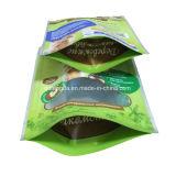 Verpackenbeutel mit wiederversiegelbarem Streifen für Haustier-Imbisse