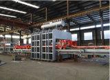 Cadena de producción caliente de la chapa de la prensa del ciclo corto semiautomático