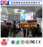 P6 alta definición SMD a todo color de interior que hace publicidad de la visualización de LED portable de la alta resolución