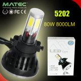 Autoteil des Guangzhou-Universalscheinwerfer-LED für Autos H1 H3 5202