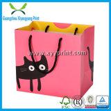 Sac à provisions coloré de papier d'emballage avec la taille personnalisée