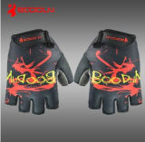 Customize professionale Leather Cycling Gloves con Gel Pad (1122)