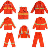 Cleaning Workers (C2406)를 위한 높은 Visibility Safety Jacket