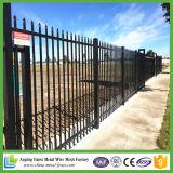 安く装飾的な錬鉄の塀のパネル