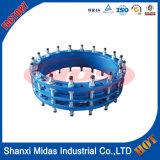 Kneedbare montage-Ontmantelt verbinding-ISO2531 die, Dn50/Dn2000 van de Pijp van het Ijzer Verbindingen ontmantelt