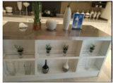 conceptions blanches modernes de cuisine en bois plein du chêne 2015welbom