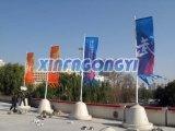Indicateur de rue/drapeau faits sur commande route de Costom
