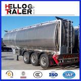 Welle 3 42000 Liter Aluminiumlegierung-flüssige Tanker-Kraftstofftank-halb Schlussteil-