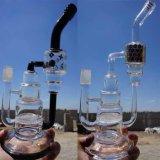 Tubo di acqua di fumo di vetro variopinto all'ingrosso di alta qualità
