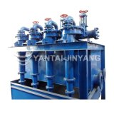 Hidrociclón de cerámica minero del agua de la arena del poliuretano hidráulico industrial de Desander