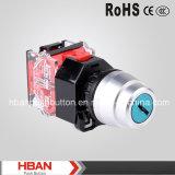 HBAN 22mm interruptor de llave de plástico