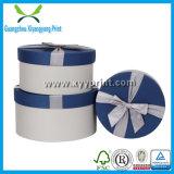 Коробка конкурсного изготовленный на заказ круглого бумажного подарка картона бумажная
