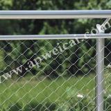 Treillis métallique universel, maille de décoration de frontière de sécurité de maille de corde