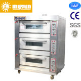 2-9 Tellersegmente Electric/Gas Plattform Baking Oven für Bread/Cake/Biscuit
