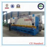 Máquina de corte QC11Y-25X61000 da guilhotina hidráulica da folha de metal
