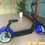 Scooter électrique approuvé de batterie au lithium du scooter 60V 12ah de Citycoco Harley de la CE