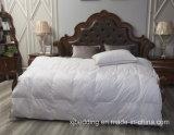 Duvet acolchoado do pato da tela de algodão caixa branca para baixo