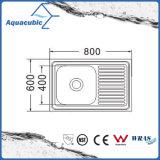 Über GegenEdelstahl Moduled Küche-Wanne (ACS-8060SB)