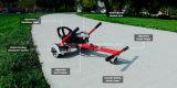 Hoverseat für das 2 Rad-intelligente Rad Hoverboard