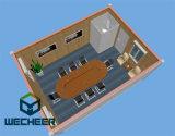 Camera del contenitore del pacchetto piano per l'ufficio del campo di lavoro del cantiere e le sale riunioni di Domitory