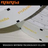 O banco da freqüência ultraelevada impede o bilhete da calcadeira RFID