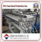 PVC皮の泡のボードの放出ライン(SJSZ65X132)