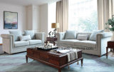 現代ソファーのための部門別のソファーのコーナーのソファーが付いている居間のソファー