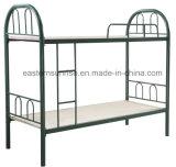 학교 기숙사 세겹 2단 침대 두 배 금속 2단 침대