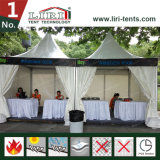 Tentes extérieures de pagoda de qualité avec le système de mur de PVC