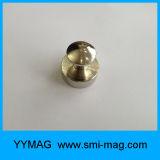 Pinos magnéticos do impulso do Neodymium do metal para o refrigerador/Whiteboards/mapas