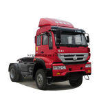Sinotruk Marke HOWO 4X2 Traktor-Haupt-LKW fahrend