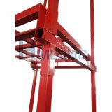 Cremalheira Stackable resistente de aço do armazenamento